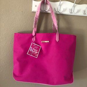 Juicy contour pink tote bag